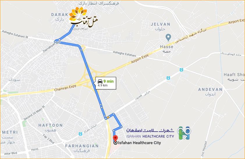 شهرک سلامت اصفهان